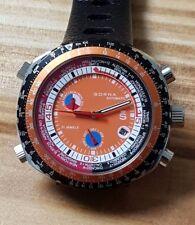 Sorna automatic watch tachymeter scale orange version new unworn