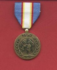 UN United Nations Award medal for UNAMET UNTAET Mission with ribbon bar