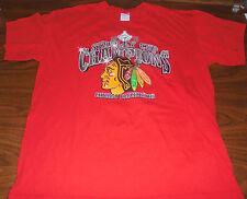 Chicago Blackhawks shirt size Large L Black Hawks NHL CM Punk Hockey Stanley Cup