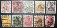 N°724 briefmarke deutsches reich gestempelt all