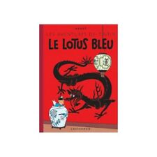 Álbum de Tintín: Le lotus bleu Edición fac-similé colores 1946