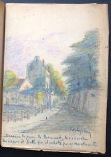 1930 MONTMARTRE J.Landre : ARISTIDE BRUANT + 7 DESSINS DE DELPHI-FABRICE & ENVOI