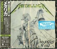 METALLICA-...AND JUSTICE FOR ALL-JAPAN SHM-CD E78