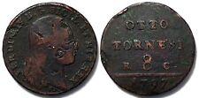 pci2034) Napoli Ferdinando IV Tornesi 8 1797