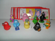BARBAPAPA COMPLETE SET WITH ALL PAPERS KINDER SURPRISE 2012