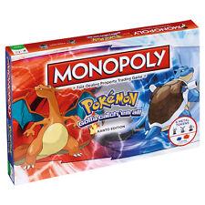 POKEMON KANTO EDITION MONOPOLY BOARD GAME *BRAND NEW*