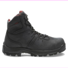 "Wolverine Men's Bonaventure 6"" Leather Wp Steel Toe Eh Work Boot Black 10.5M"