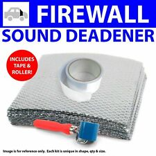 Heat & Sound Deadener Early Cars 1935 - 40 Firewall Kit + Tape, Roller 12483Cm2