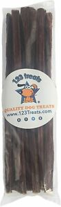 """Beef Dog Treats 12"""" - 15 Count - 100% Natural Esophagus Chews for Dogs - Healthy"""