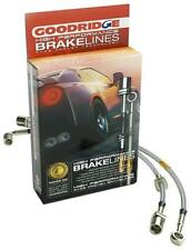 GOODRIDGE SS BRAKE LINES KIT 92-95 CIVIC  WITH REAR DISC *NO ABS* 20017