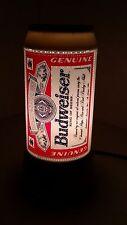 Budweiser Beer Can Rotating Lamp Lighted Sign Bar Man Cave Decor at Mr.Niceguys
