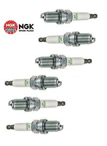 6-New NGK V-Power Copper Spark Plugs BKR5E-11 #6953 Made in Japan