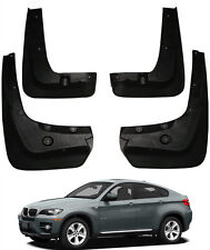 Genuine FRONT & REAR Splash Mud Guards Mud Guards Flaps FOR 2008-2014 BMW X6 E71