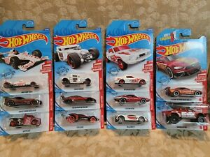 2020 Hot Wheels 11/ 12 Target RED EDITION Exclusives Very Hard to Find