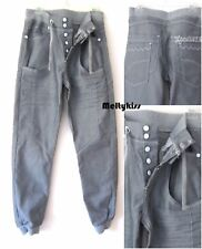 NWOT ZICO MEN'S GREY CUFFED JOGGERS FIT TWISTED JEANS PANTS Sz-32