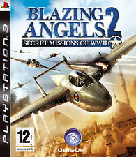Blazing angels 2 secret missions de la seconde guerre mondiale ~ PS3 (en très bon état)