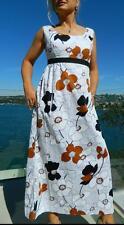 VINTAGE Dorolyn Melbourne 1960's-70s Original Boho Garden Party Retro Dress
