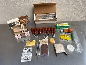 Tandy Professional Leathercraft Leather Craft Saddle Tool Kit