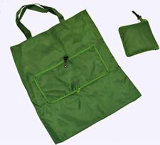 X3 Verde Pieghevole Twisted Maniglia Sacchetto Piccolo Regalo al dettaglio di viaggio