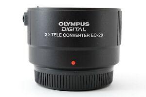 OLYMPUS DIGITAL 2x TELE CONVERTER EC-20 Lens Four Thirds Mount JAPAN [Near MINT]