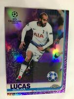 2018-19 Topps NOW UEFA UCL Champions League XI-19 Lucas Moura Tottenham Hotspur