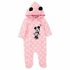 NWT Disney Baby Licensed Girls Minnie Mouse Romper Coverall Size 1 or Size 2