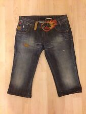 Genuine Miss Sixty 3 Quarter Jeans 27in Waist