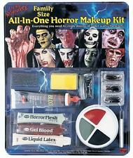 HORROR MAKEUP KIT COSTUME MONSTERS VAMPIRES BLOOD LIQUID LATEX FW9424