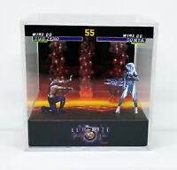 Mortal Kombat 3 Ultimate Diorama 3D Cube - retro sega game, gamer gift