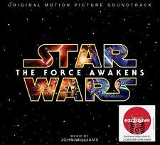 STAR WARS THE FORCE AWAKENS SOUNDTRACK OST CD JOHN WILLIAMS TARGET EXLCUSIVE NEW