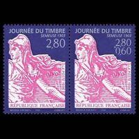 FRANCE - paire Timbre P2991A Neuf** TB avec gomme d'origine (cote 5,00 euros)