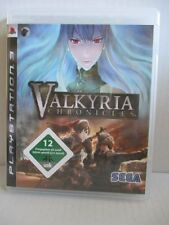 Sony PlayStation 3 ps3 juego Valkyria Chronicles