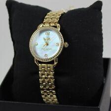 NEW AUTHENTIC COACH DELANCEY GOLD WOMEN'S 14502478 WATCH