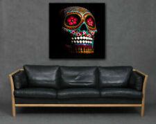 Canvas Skulls Abstract Art Prints