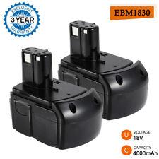 2x 4.0Ah BCL1815 Battery 18V Li-ion For HITACHI BCL1820 BCL1830 BCL1840 EBM1830