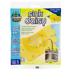 Compac Sink Daisy Scented Strainer, Strawberry, Single Pack