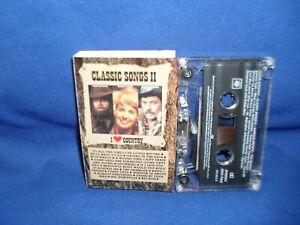 I LOVE COUNTRY CLASSIC SONGS II – RARE AUSTRALIAN CASSETTE TAPE NM