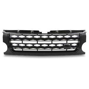FRONT UPGRADE BLACK GRILL GRILLE FOR LAND ROVER DISCOVERY 3 TO DISCOVERY 4 2015