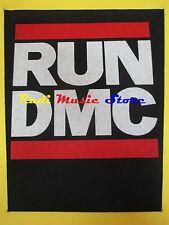 TOPPA patch RUN DMC 37x32 cm (*) cd dvd lp mc vhs live promo