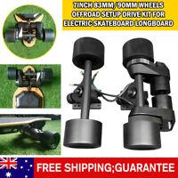 7inch 83MM/90MM wheels offroad setup drive kit for electric skateboard longboard
