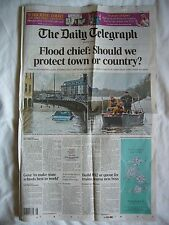 THE DAILY TELEGRAPH 3 FEB 2014 NEWSPAPER PHILIP SEYMOUR HOFFMAN OBITUARY MOVIES
