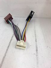 Philips Cmd310 Car Radio Stereo Wiring Harness Wire Loom Lead 16 Pin Iso White