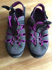 Northwest 6 Grey & Purple Open Air Walking Shoes