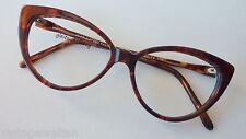 Jean Lafont Damenbrille Designer Schmetterlingsform hornoptik braun cateys sizeM