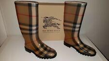 Burberry Authentic Women Rain Boots Size Eur 37