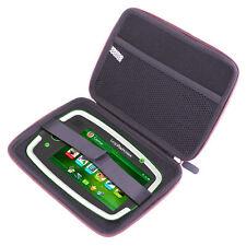 "Hard Pink EVA Dual Zip Protective Case for Leapfrog LeapPad Platinum 7"" Tablet"