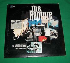 RAPTURE RECORD ALBUM APOCALYPSE DAVID WILKERSON CHRISTIAN LP BEAST END OF WORLD