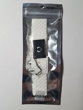 Wize & Ope WO-SH-CL-4 Shuttle Club / White Silicone Watch Band White New