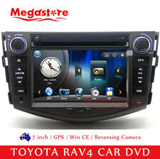 7.0 inch Car DVD GPS Player Stereo Head Unit For TOYOTA RAV4 2006-2012