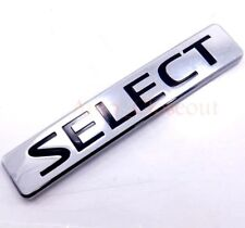 13 14 15 Nissan Rogue Lift Gate Rear Select Name Plate Symbol OEM Silver 2014